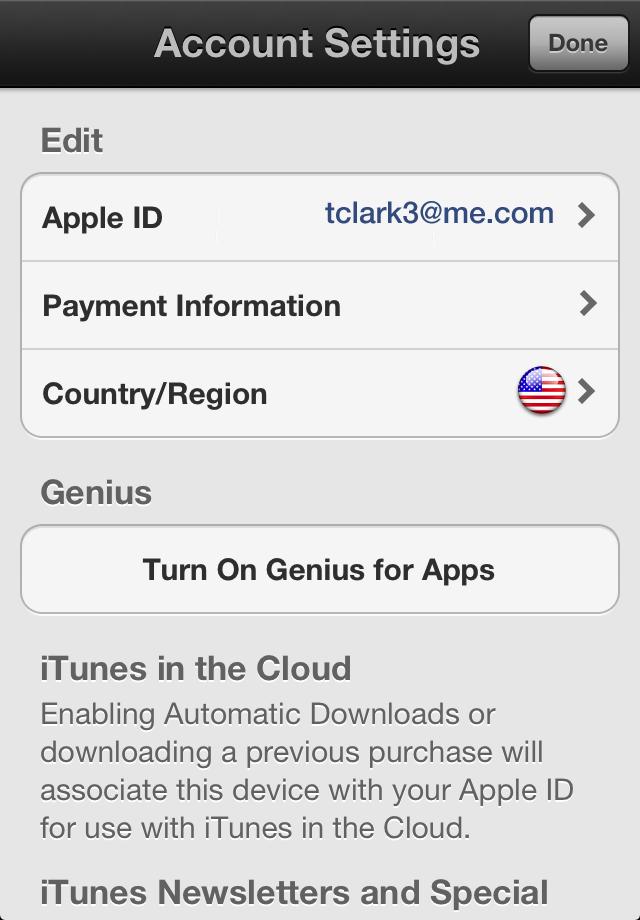 change apple id on app store on iphone